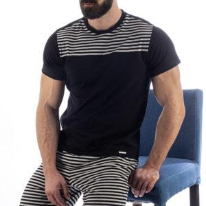 Manor underwear Manor underwear Stripes Četvorobojne Lounge bermude
