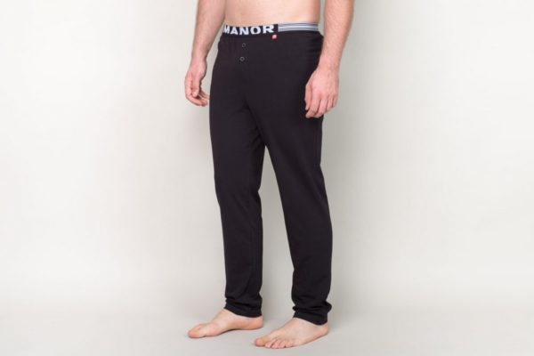 Manor underwear Basic crna pidzama