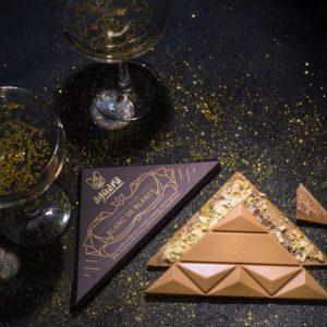 Aguara čokolada posvećena penušavom vinu Blanc de Blancs