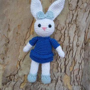 M.F.S. -Igračka Zečica, ručni rad