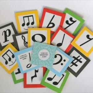 Muzičke memorije Simboli