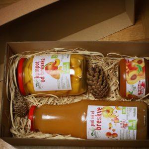 novogodisnji paket poklon