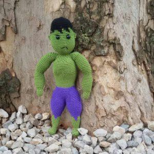 m.f.s.igracka hulk, rucni rad, hulk, crtani film, nis, srbija, miljina fabrika snova, heklano, rukotvorine