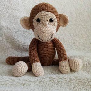 M.F.S. - Ručni rad, Ekološka igračka, Majmun Dzordz, Niš, Prodaja, handmade, amigurumi, poklon, deca, igracke