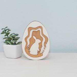 Uskršnje jaje i zeka ukras