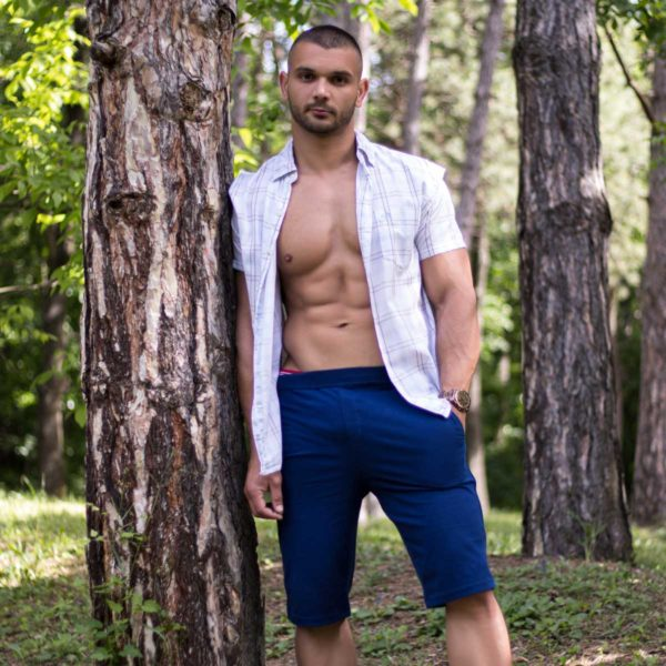 Manor underwear plave muške bermude 6